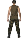 Costumes de soldat Mens kaki camouflage armée Costume