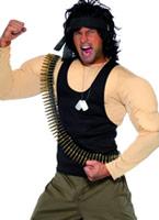 Costume Rambo Costumes de soldat