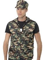 Armée Guy Kit instantanée Costumes de soldat