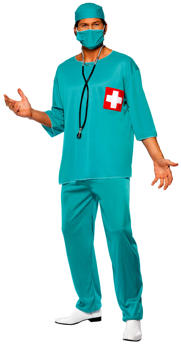Costume de Docteur Chirurgiens Costume bleu