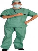 Costume de médecin Scrubs Costume de Docteur