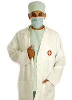 Dr TS Tickle Costume Costume de Docteur