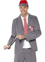 Costume de garçon de l'école Déguisement Ecolier