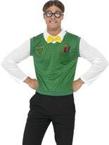 Costume garçon geek Déguisement Ecolier