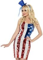 Fièvre Amérique tout ce qui brille de Costume Costume américains