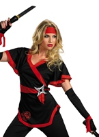 Costume de Ninja Dragon Lady  Costume Japonais