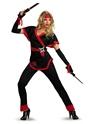Costume Japonais Costume de Ninja Dragon Lady