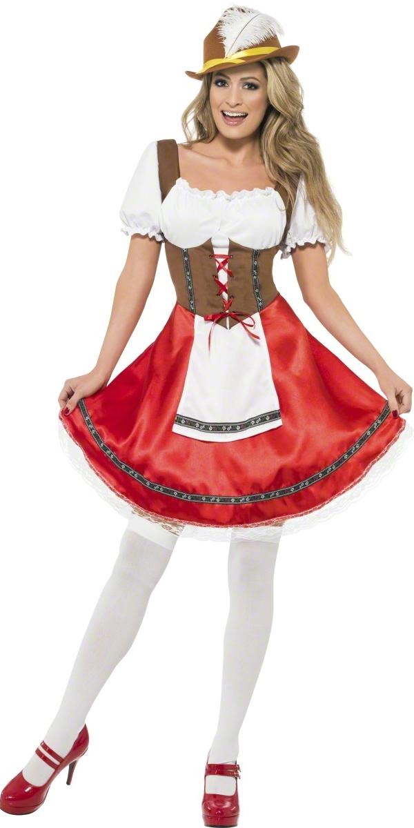 Déguisement Allemand Mesdames Costume de bière bavaroise Wench