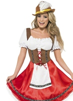 Mesdames Costume de bière bavaroise Wench Déguisement Allemand