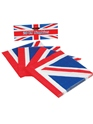 Déguisement Britannique Serviettes de table Union Jack (pack de 20)