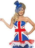 Fièvre règle Britannia Union Jack Costume Déguisement Britannique