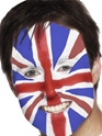 Déguisement Britannique Kit de peinture pour le visage Union Jack