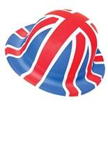 Chapeau melon d'Union Jack Budget Déguisement Britannique