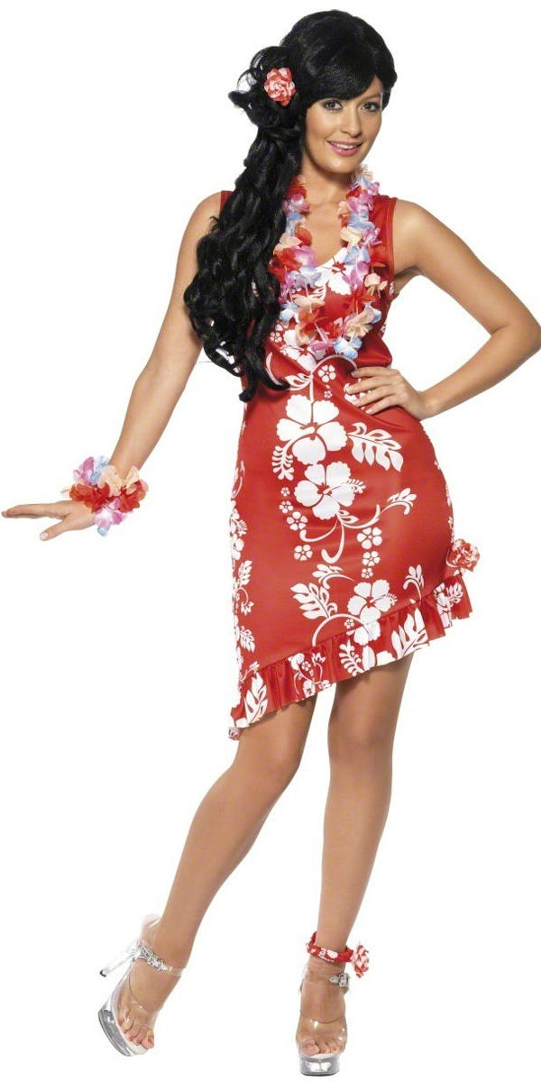 Déguisement Hawaï Costume de beauté Hawaiian