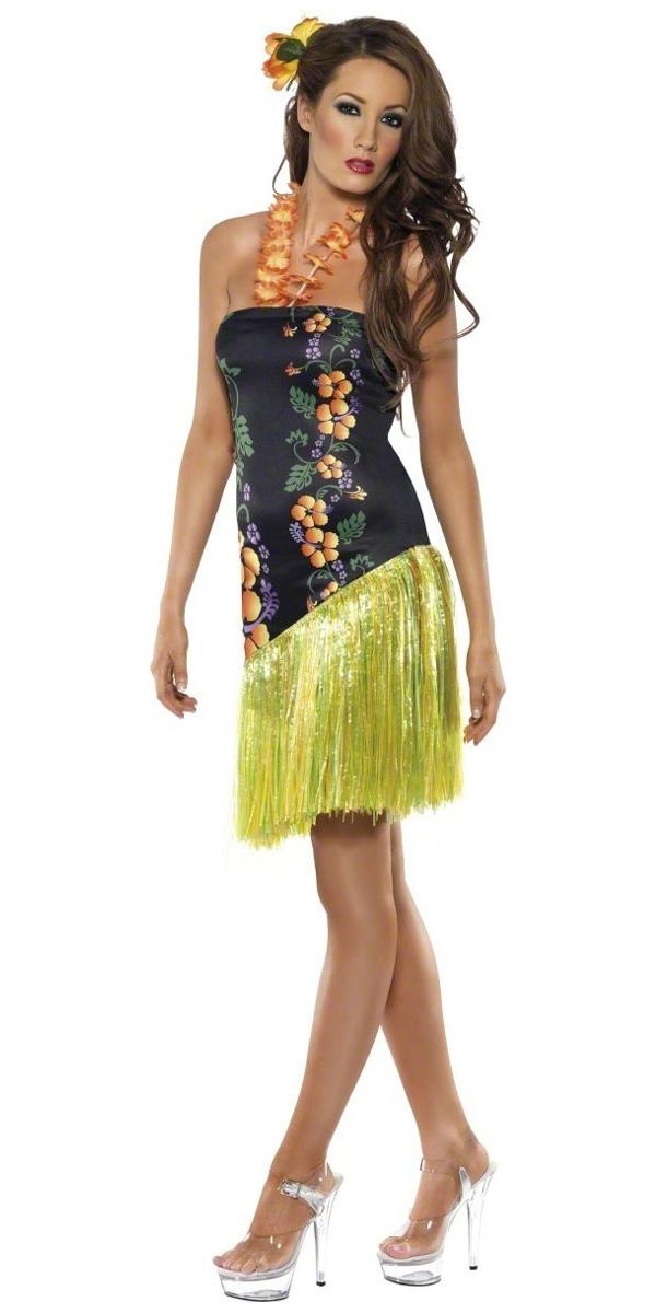 Déguisement Hawaï Costume Hawaï Luau pulpeuse