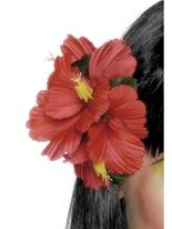 Pince fleur hawaïenne Déguisement Hawaï