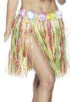 Hula jupe multicolore Déguisement Hawaï