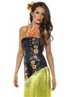 Costume Hawaï Luau pulpeuse Déguisement Hawaï