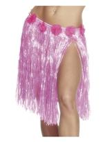 Hula jupe Neon Pink Déguisement Hawaï