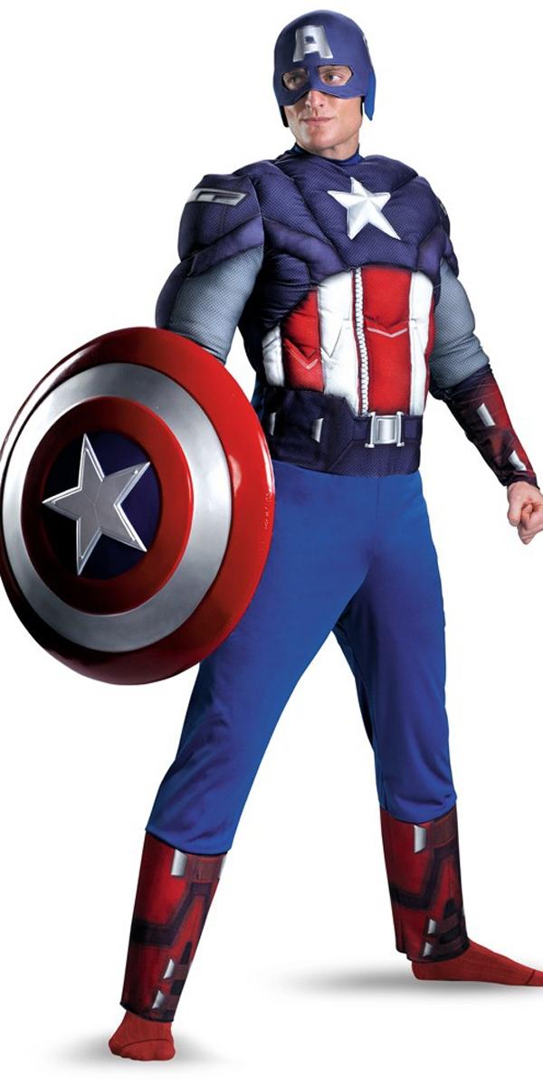 Costume Captain America Le Costume de Captain America Vengeurs