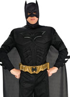 Costume de Batman Deluxe Muscle thoracique Costume de Batman