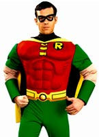 Costume de luxe Robin Muscle thoracique Costume de Batman