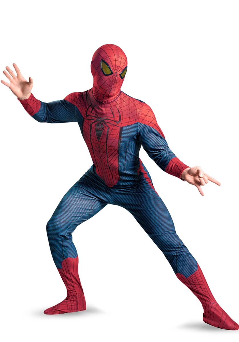 Costume de Spiderman L'incroyable Spiderman Costume Taille Plus