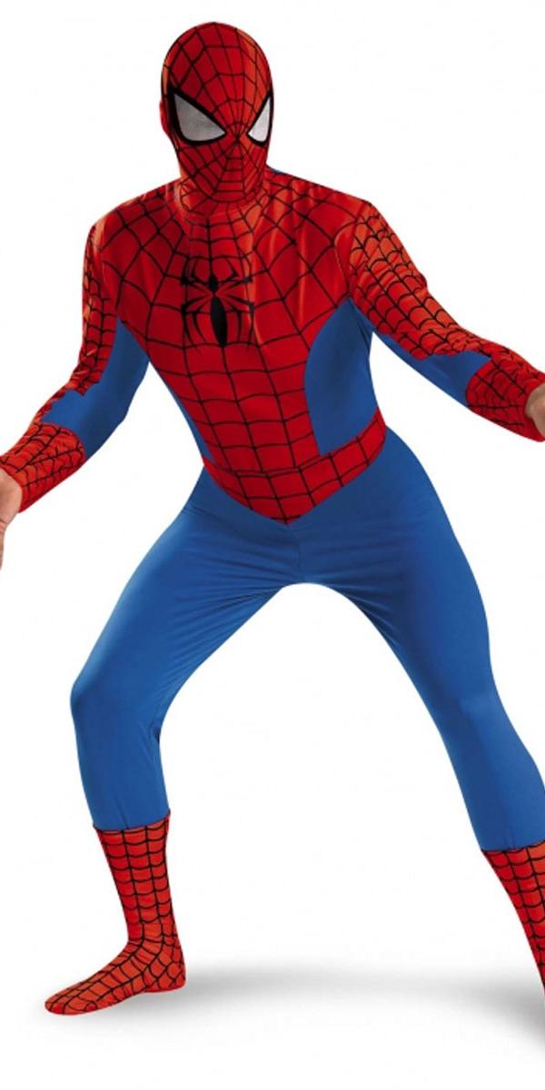 Costume de luxe spiderman costume de spiderman d guisement super h ros 04 07 2018 - Costume de super heros ...