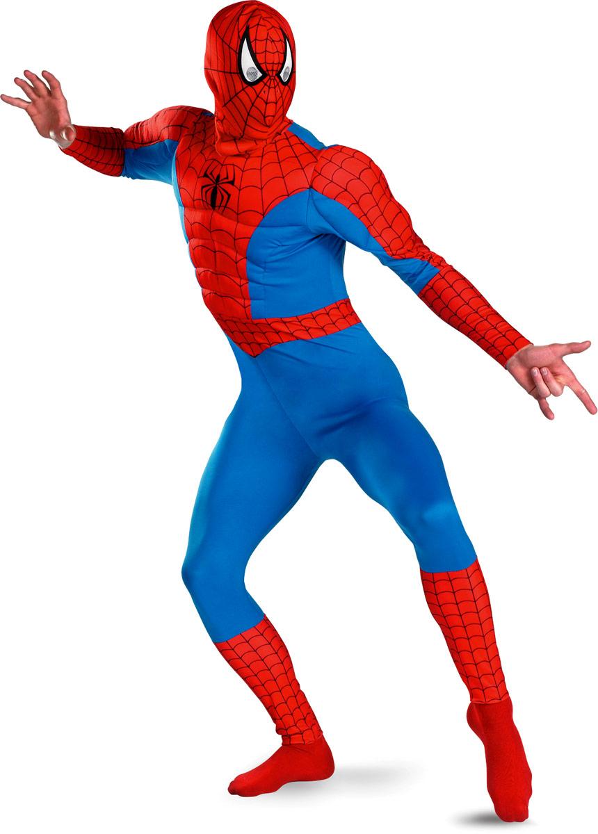 Costume de Spiderman Costume Spiderman Muscle de la poitrine