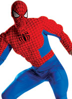 Costume de Spiderman Muscle Deluxe Costume de Spiderman
