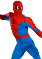 Costume Spiderman Muscle de la poitrine Costume de Spiderman