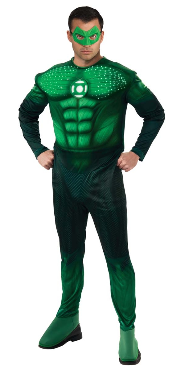 muscle deluxe light up costume hal gordon costume de green lantern d guisement super h ros 24. Black Bedroom Furniture Sets. Home Design Ideas