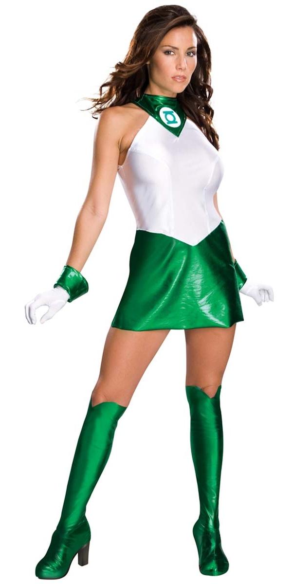 Costume de Green Lantern Costume sexy de Green Lantern