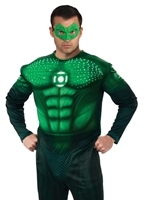 Muscle Deluxe Light Up Costume Hal Gordon Costume de Green Lantern