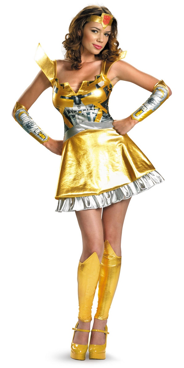 Costume Transformateurs Transformers Bumble Bee Mesdames Costume