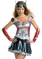 Transformers Optimus Prime Mesdames Costume Costume Transformateurs
