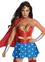 Costume de femme de merveille luxe Costume wonder woman