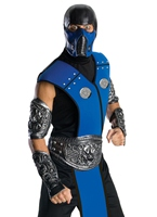 Costume de Sub Zero de Mortal Kombat Homme Années 90