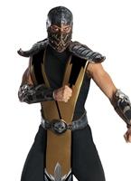 Costume de Mortal Kombat Scorpion Homme Années 90
