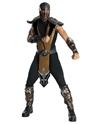 Homme Années 90 Costume de Mortal Kombat Scorpion