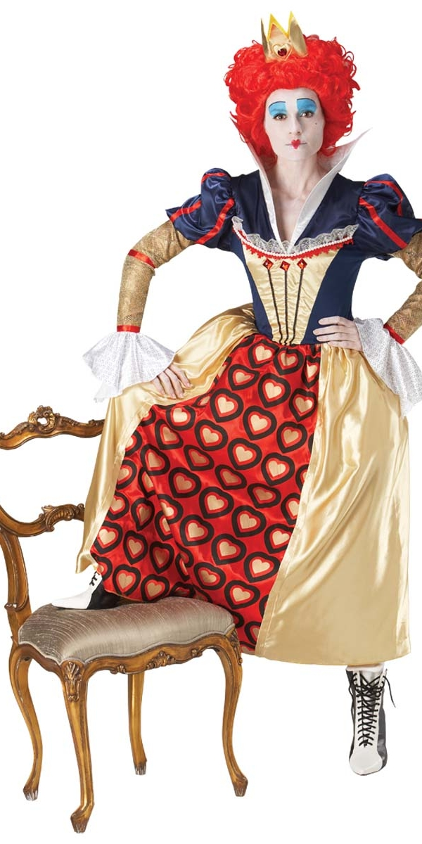 Deguisement Disney Costume d'Alice Reine Rouge Disney