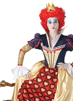 Costume d'Alice Reine Rouge Disney Deguisement Disney