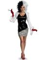 Deguisement Disney Sexy Costume de Cruella de Vil
