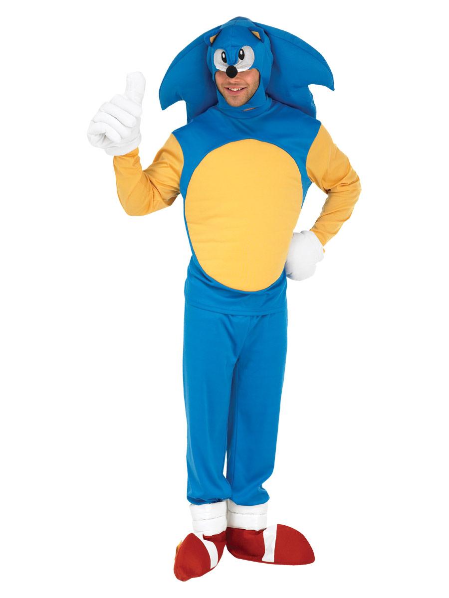 Deguisement Sonic Costume de Sonic le hérisson