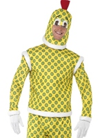 SuperTed Costume boutonneuses Costume SuperTed