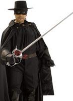 Zorro Grand patrimoine Costume de Zorro