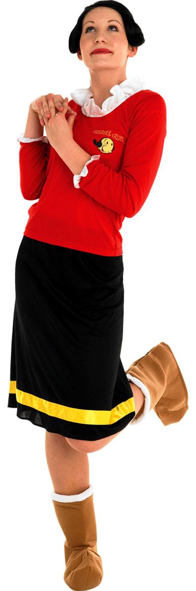 Costume Popeye Costume Olive Oyl