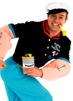 Costume Popeye Costume Popeye