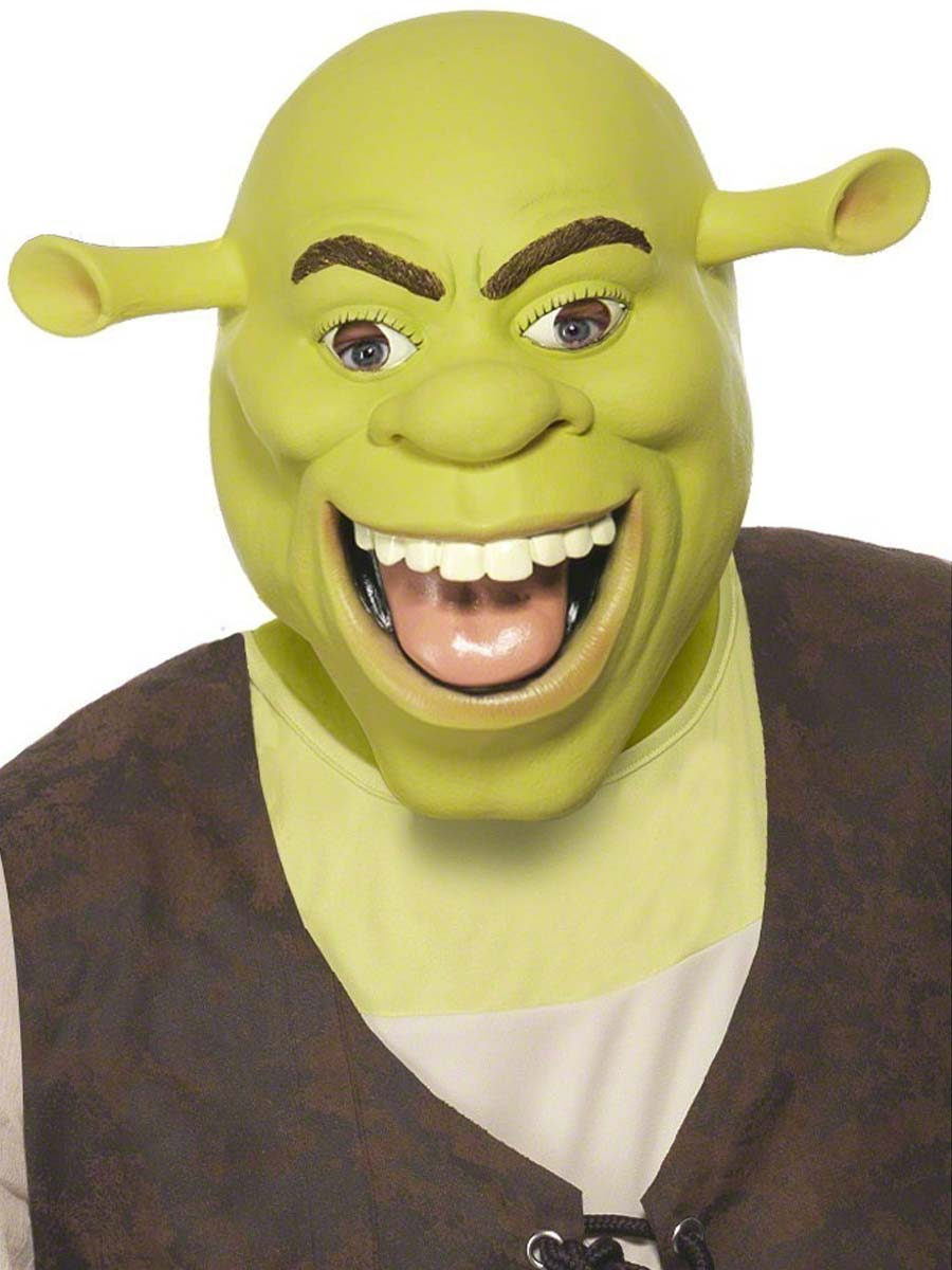 Costume de Shrek Masque Latex de Shrek