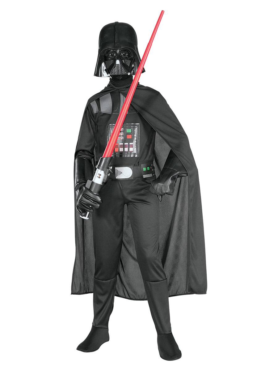 Costume Star Wars Enfant Star Wars Darth Vader Costume avec sabre laser